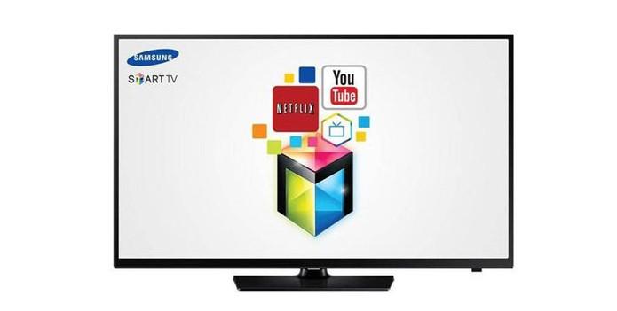 Smart TV da Samsung tem 40 polegadas LED Full HD (Foto: Divulgação/Samsung)