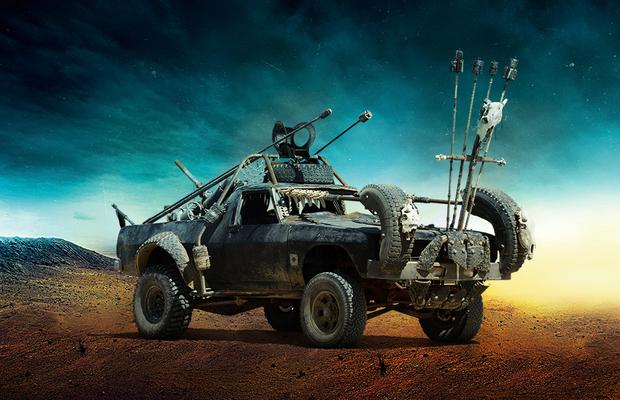 Firecar #4, do filme Mad Max: Estrada da Fúria (Foto: Warner Bros.)