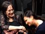 Luiza Brunet conhece Maria da Penha, que deu origem à lei homônima