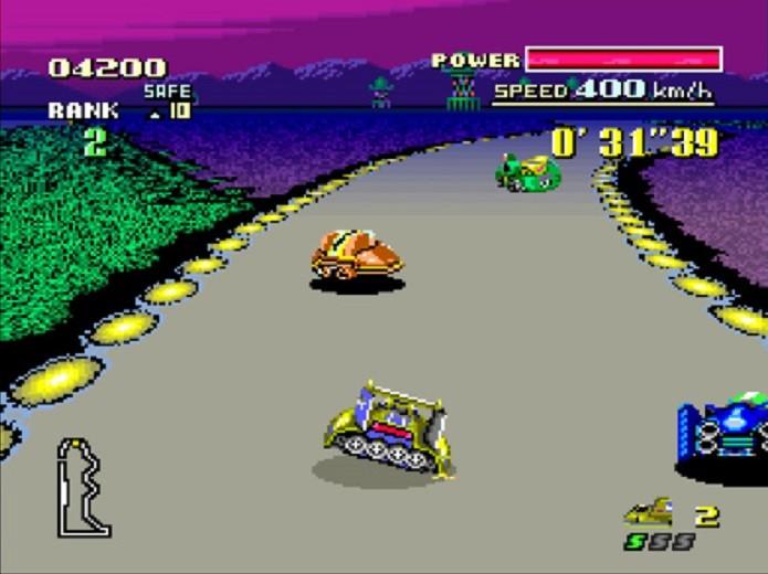Melhores jogos de corridas do SNES: F-Zero (Fonte: Reprodução/Nintendo)