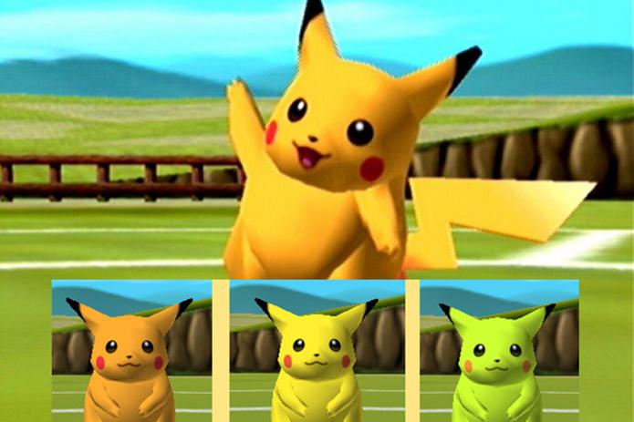 Easter egg adiciona cores diferentes a Pokémons em Stadium (Foto: Reprodução/WhatCulture)