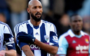 Anelka west bromwich gol west ham (Foto: Agência Getty Images)