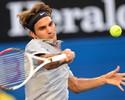 Federer aposta no rosa, supera calor de 39ºC e bate Davydenko na Austrália