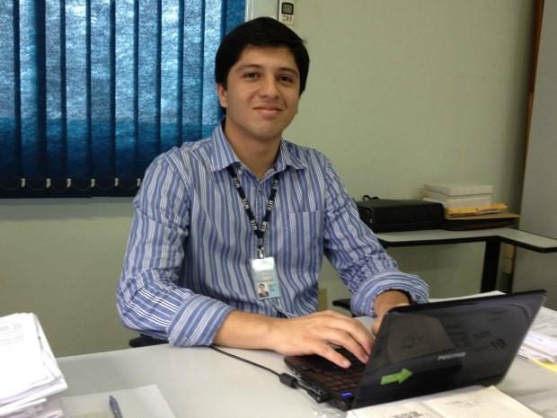 Danilo Ernesto é auditor fiscal do Trabalho, mas quer ser procurador da República (Foto: Ivanete Damasceno/G1)