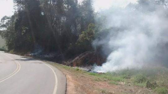 Homem é preso por atear fogo em área de preservação ambiental