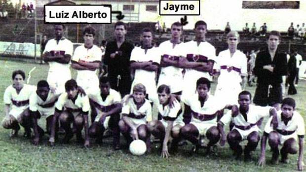 Jayme e Luiz Alberto (Foto: Acervo Heraclea)