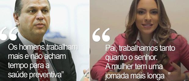 Deputada Maria Victoria criticou declaração do pai, o ministro da Saúde Ricardo Barros (Foto: G1)