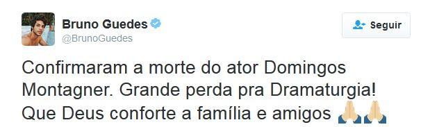 Bruno Guedes (Foto: Twitter / Reprodução)