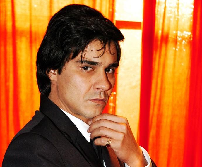 André Golçalves em um episódio de 'Linha Indireta Justiça' (Foto: TV Globo/Márcio de Souza )