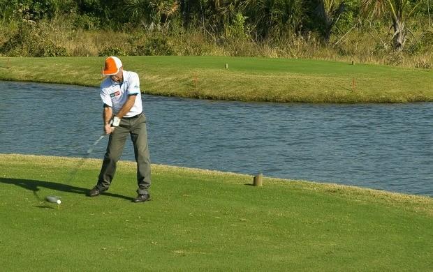 Campo de golfe em Campo Grande MS (Foto: Zeca Resendes/Divulgação)