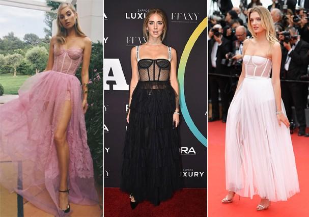 Vestido com bustiê é tendência entre as famosas (Foto: Getty Images)