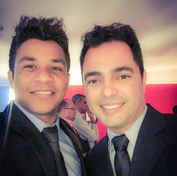 A dupla Cleiton e Camargo (Foto: Reprodução/Instagram)