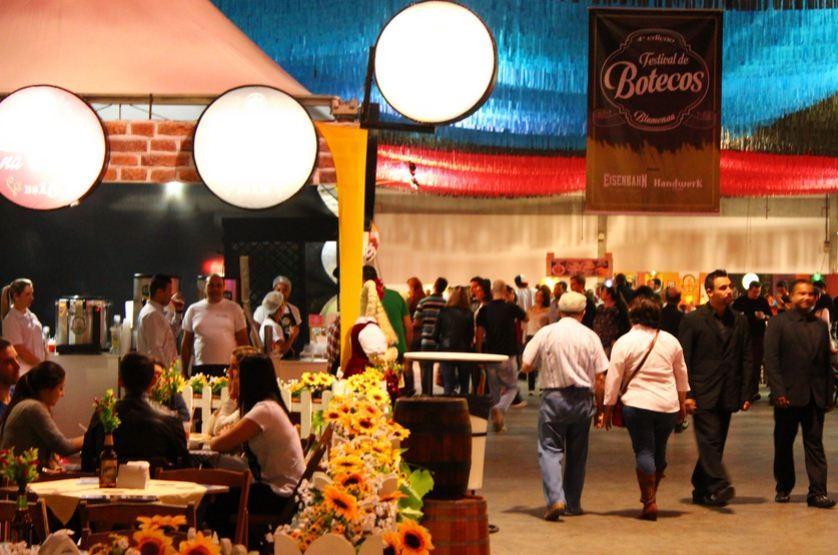 RBS TV ajudou na divulgação do Festival de Botecos (Foto: RBS TV/Divulgação)