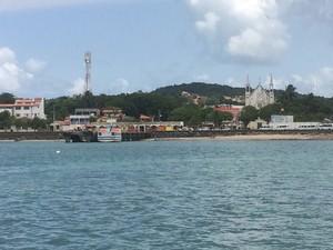 Travessia para Mar Grande opera normalmente nesta segunda-feira (Foto: Rafael Teles/G1)