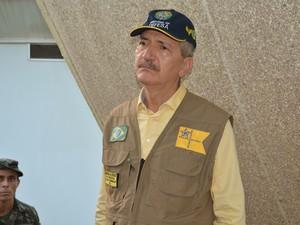 Ministro Aldo Rebelo conheceu as demandas do Exército em Porto Velho (Foto: Toni Francis/G1)
