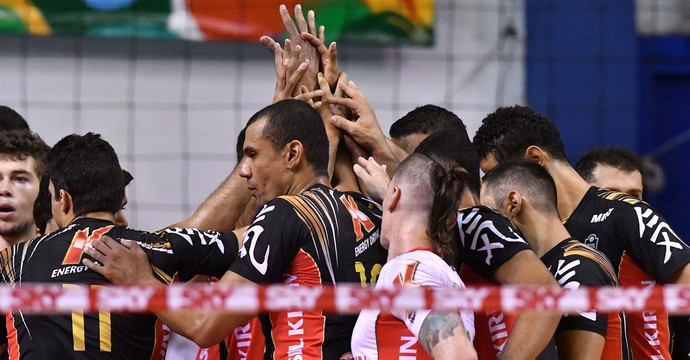 Campinas x São Bernardo Superliga masculina vôlei (Foto: João Pires / Fotojump)