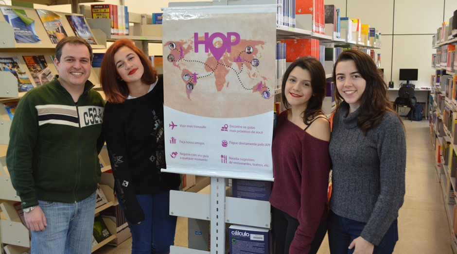 Estudantes paulistas criam aplicativo para ajudar turistas no Brasil