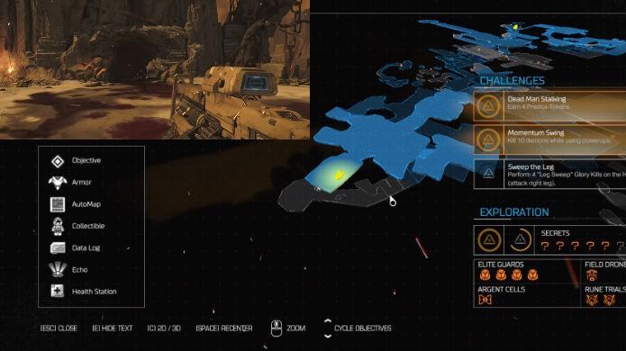 Doom: veja a localização exata da sexta alavanca de mapa clássico (Foto: Reprodução/Thomas Schulze)