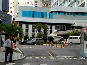 Hospital Espanhol, em Salvador, Bahia (Foto: Imagem TV Bahia)