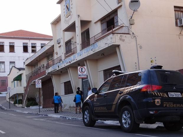 Operação da Polícia Federal prende políticos em Três Corações (Foto: Divulgação Polícia Federal)