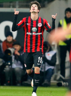 Lucas Piazon, gol Frankfurt (Foto: AP)