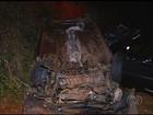 Capotamento mata quatro e fere dois na GO-305, entre Goiandira e Cumari