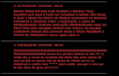 Bahia; Vitória; Ba-Vi; Violência (Foto: Reprodução)