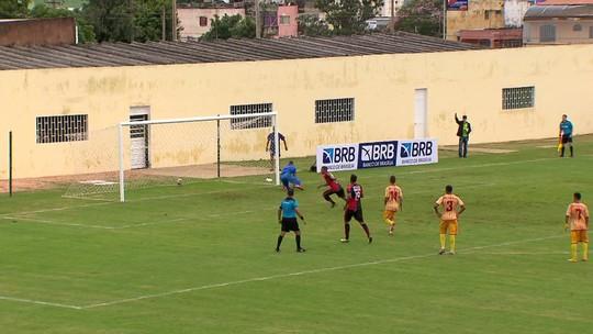 Brasiliense e Real FC somam mais  um ponto, e Brasília vence a primeira