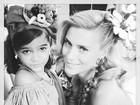 Carolina Dieckman posa com Mel Maia na web: 'Minha princesa'