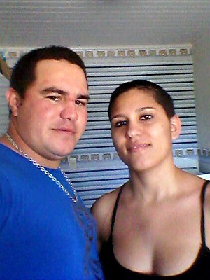 Grávida atropelada em calçada com marido tem alta de hospital, no Espírito Santo (Foto: Arquivo Pessoal/ Antônia Brenna)