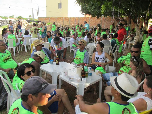 Bloco Rodrigues anima o carnaval em Barras (Foto: Gil Oliveira)