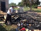 Casa é incendiada após forno ser esquecido ligado em Guajará, RO
