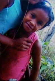 Menina foi achada morta em um canavial (Foto: Reprodução/TV Asa Branca)