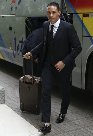 Ricardo Oliveira se apresenta à seleção brasileira (Foto: Leo Correa / MoWA Press)