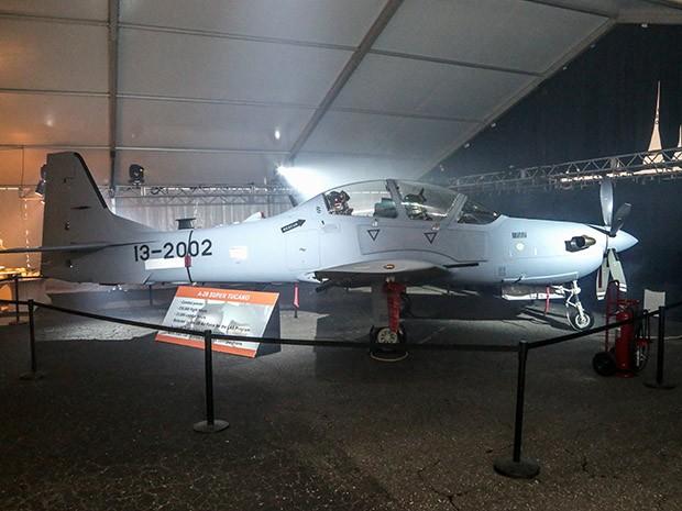 Embraer entrega primeiro Super Tucano para Forças Aérea dos EUA (Foto: Divulgação/Embraer)