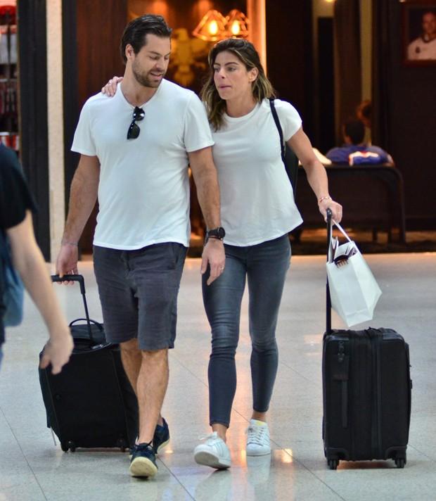 Daniella Cicarelli e Guilherme Menge (Foto: AgNews)