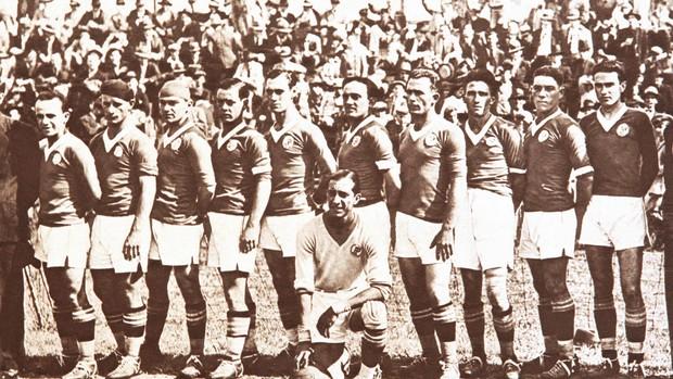 Palmeiras x São Paulo 1933 (Foto: Arquivo / Agência Estado)