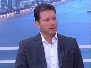 Nelson Marchezan Júnior fala ao Jornal do Almoço (Foto: Reprodução/RBS TV)