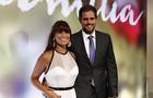 Casal Giovanna Antonelli e Leonardo Nogueira posam na festa de lançamento da novela (Foto: Inácio Moraes/ TV Globo)