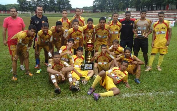 Jabaquara campeão sub-15 (Foto: Divulgação / Jabaquara AC)