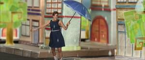 Carol Levy conta histórias até na chuva  (None)