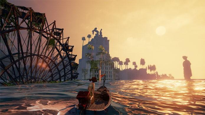 Navegando em Submerged (Foto: Divulgação/Uppercut Games)