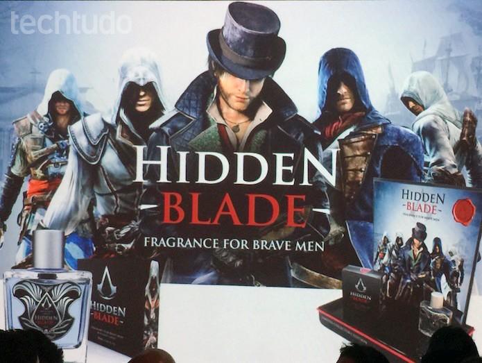 Perfume da marca Assassin's Creed chegará ao mercado brasileiro (Foto: Victor Teixeira/TechTudo)