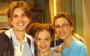 Helena Fernandes com Claudia Rodrigues em A Diarista