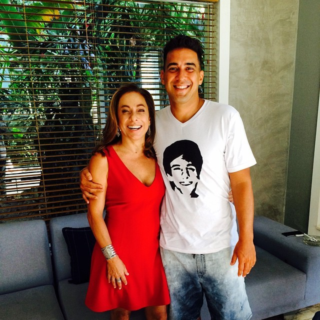 Cissa Guimarães e André Marques (Foto: Reprodução/Instagram)