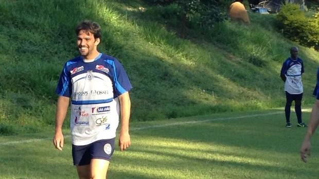 Rafael Silva zagueiro São Bento (Foto: Marcus Vinícius Souza)