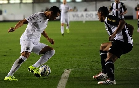 Santos x Figueirense Ricardo Oliveira (Foto: Ivan Storti/Santos FC)