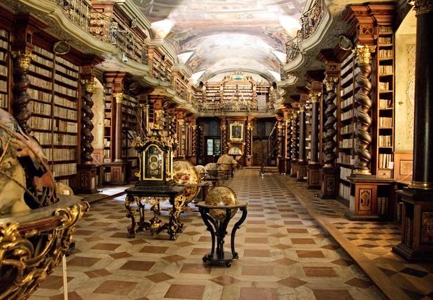 Biblioteca Clementinum (Foto: Bruno Delzant/Flickr)