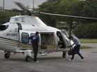 Thor Batista usa dois helicópteros para viajar no feriadão