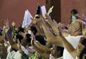 Católicos lotam missa no Dia da Padroeira